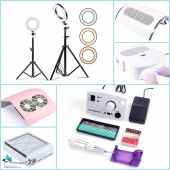 Оборудование (лампы, стерилизаторы, машинки, пылесосы и т.д.)